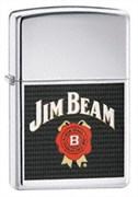 Широкая зажигалка Zippo Jim Beam 24552