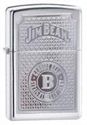 Широкая зажигалка Zippo Jim Beam Genuine 21181