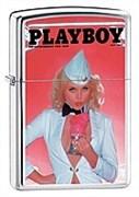 Широкая зажигалка Zippo Playboy 20951