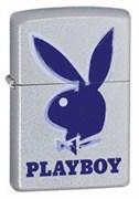 Широкая зажигалка Zippo Playboy 3-d 21020