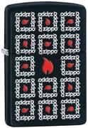 Широкая зажигалка Zippo Surround 28667
