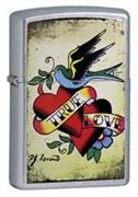 Широкая зажигалка Zippo True love 24557