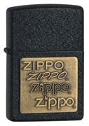 Широкая зажигалка Zippo Brass 362