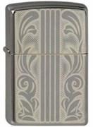 Широкая зажигалка Zippo Scrolls & Bars 150