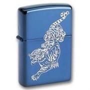Широкая зажигалка Zippo Tigre 20446