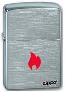 Широкая зажигалка Zippo Flame Only 200