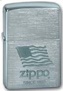 Широкая зажигалка Zippo Zippo Flag 200