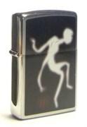 Широкая зажигалка Zippo Zippo Ghost 200