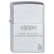 Широкая зажигалка Zippo Zippo made in USA 200