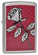 Широкая зажигалка Zippo Rose 205