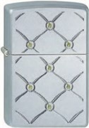 Широкая зажигалка Zippo Metal dots 205