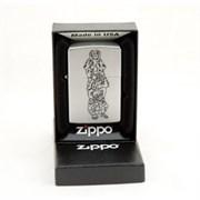 Широкая зажигалка Zippo Monkeys 205
