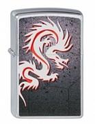 Широкая зажигалка Zippo Tattoo Dragon 205