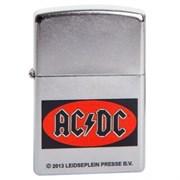 Широкая зажигалка Zippo ACDC 210