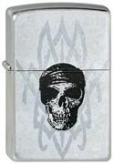 Широкая зажигалка Zippo Pirate Skull 225