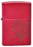 Широкая зажигалка Zippo Rose 20063