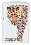 Широкая зажигалка Zippo Leopard 214
