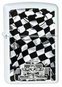 Широкая зажигалка Zippo Race Car 214