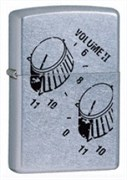 Широкая зажигалка Zippo Voluem 24476