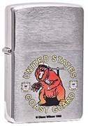 Широкая зажигалка Zippo US Coast 24531