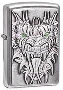 Широкая зажигалка Zippo Dragon 24901