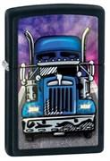Широкая зажигалка Zippo Truck 24921