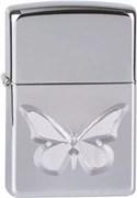 Широкая зажигалка Zippo Butterfly 257