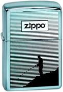 Широкая зажигалка Zippo Fishing 314