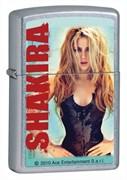 Широкая зажигалка Zippo Shakira 28029