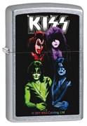 Широкая зажигалка Zippo Kiss 28473