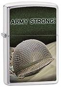 Широкая зажигалка Zippo US Army  28514