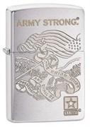 Широкая зажигалка Zippo US Army  28515