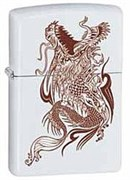 Широкая зажигалка Zippo Dragon 28705