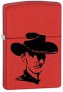 Широкая зажигалка Zippo Cowboy 28725