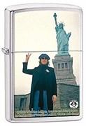 Широкая зажигалка Zippo John Lennon 28730