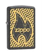 Широкая зажигалка Zippo Metal 28759