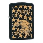 Широкая зажигалка Zippo Eagle&stars 28763