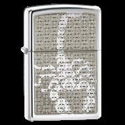 Широкая зажигалка Zippo Hidden Scorpion 28053
