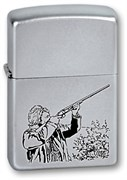 Широкая зажигалка Zippo Hunter 205