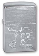 Широкая зажигалка Zippo COWBOY 200