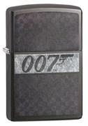 Широкая зажигалка Zippo James Bond 29564
