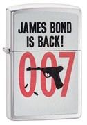 Широкая зажигалка Zippo James Bond 29563