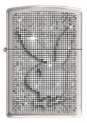 Широкая зажигалка Zippo PLAYBOY SPARKLE 200