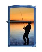 Широкая зажигалка Zippo 4 FISHERMAN 245