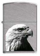 Широкая зажигалка Zippo 7 EAGLE HEAD 24647