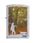 Широкая зажигалка Zippo HUNTING 205
