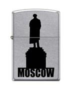 Широкая зажигалка Zippo MOSCOW SILHOUETTE 207