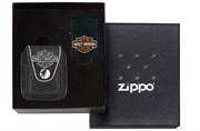 Зажигалка Zippo Harley-Davidson в подарочной коробке с чехлом 218HD.H252-065