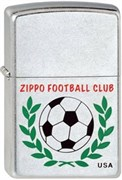 Широкая зажигалка Zippo Football Club 207
