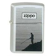 Широкая зажигалка Zippo Fishing 250